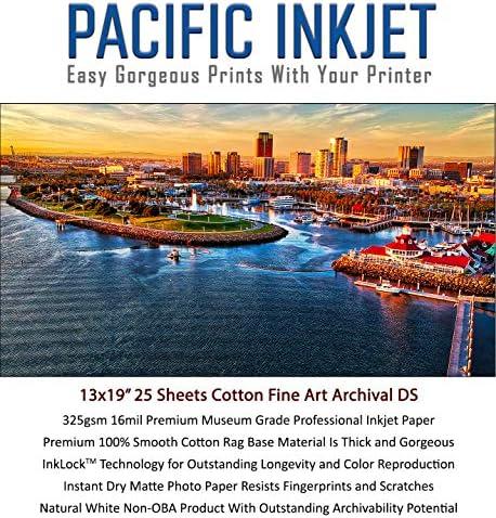 (13-x-19) 25 Sheets 100% Cotton Fine Art Matte...