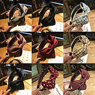Sweet Girl's Hairband Hair Band Wide Bow Knot Headband Hair Hoop Accessories