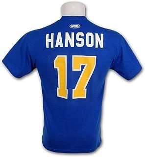 Slapshot Charleston Chiefs #17 Steve Hanson T-Shirt
