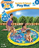 Banzai 14663 Sprinkle 'n' Splash Baby Toddler Play Mat Sprinkler Paddling Pool for Toddlers & Young Kids, Multi-Colour