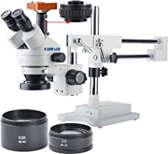 KOPPACE 21 MP HD Industrial Camera,Full HD 1080P 60FPS, HDMI Electronic Industrial Digital Microscope,Mobile Phone Repair 3.5X-90X Stereo Microscope,Includes 0.5X and 2.0X Barlow Lens
