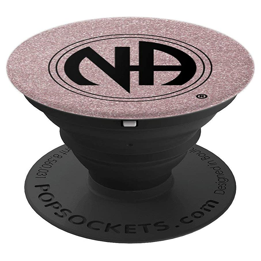Narcotics Anonymous Logo Rose Gold BG Men Women Perfect Gift - PopSockets Grip and Stand for Phones and Tablets
