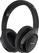 TeckNet Wireless Bluetooth Headphones with Over Ear, Hi-Fi Stereo Headset with Soft Memory Earmuffs &Audio Cable, Built-in Mic,for PC/Laptop/Cell Phones/Ipad