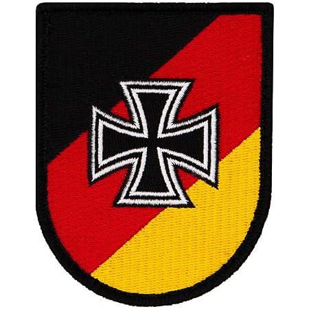 Copytec Deu Patch 3d Rubber Deutschland Germany Bw German Fahne Deutsch Aufnäher Klett Uniform Tarn Bundeswehr 8cmx5cm 20485 Küche Haushalt
