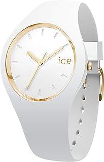 Ice-Watch - ICE glam White - Montre blanche pour femme avec bracelet en silicone