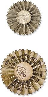 Sizzix Sizzlits Decorative Strip Die - Mini Paper Rosettes (2 Sizes) by Tim Holtz