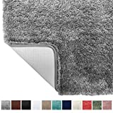 Best Bath Rugs - Gorilla Grip Original Premium Luxury Bath Rug, 24x17 Review