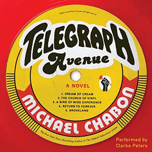 Telegraph Avenue audiobook cover art