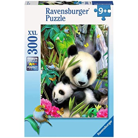 Ravensburger - 13065 - Puzzle Classique - 300 Pièces - Charmant Panda