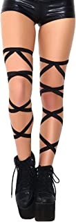 IHeartRaves Women's Pair of Non-Slip Leg Wraps