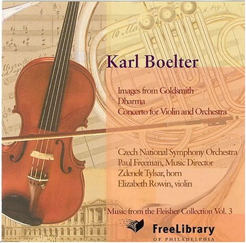 Boelter : Concerto pour violon