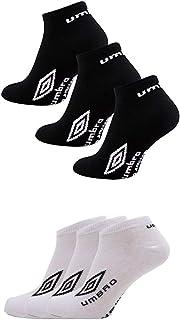 6 pares – Calcetines invisibles para hombre, diseño oficial de Umbro