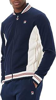 Fila Vintage White Line Mens Settanta Track Top Navy/Cream