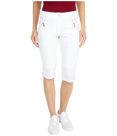 Jamie Sadock Airwear(r) Hybrid Lightweight Capris (Sugar White) Women