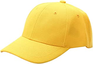 Baseball Cap,Unisex Fashion Summer Baseball Cap,Women Men Street Hip Hop Adjustable Cotton Caps Casual Multicolor Cap Men Snapback Hat Popular
