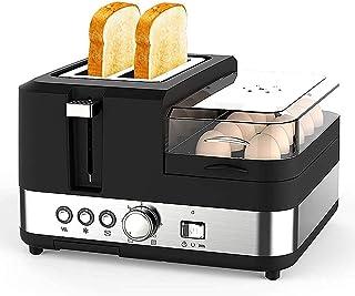 Grille-pain grille-pain et œuf 2 tranche de grille-pain et fabricant d'œufs, machine de fabricant de petit-déjeuner multif...