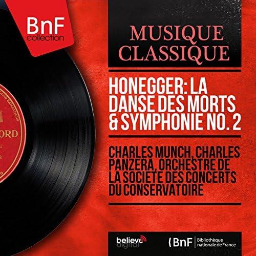 Charles Munch, Charles Panzéra, Orchestre de la Société des Concerts du Conservatoire