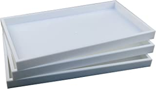 rectangular display tray