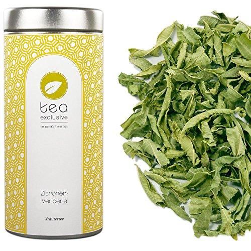 tea exclusive - Zitronenverbene (Verveine), Kräutertee (Bio-Tee, kbA), Dose 40g