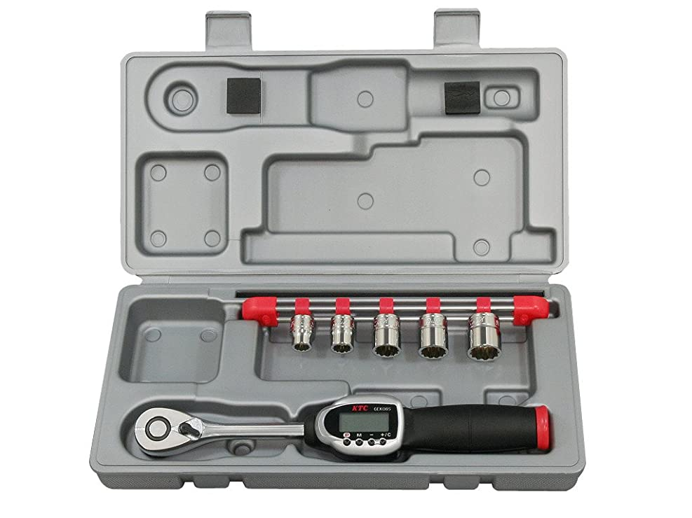 粘着性メカニック悲劇京都機械工具(KTC) デジタルトルクレンチセット デジラチェ TB306WG2 差込角:9.5mm 6点組 1セット