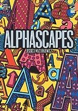 Alphascapes (Dover Design Coloring Books) by Mazurkiewicz, Jessica, Coloring Books, ABC (2012) Paperback