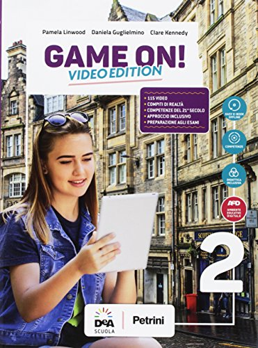 Game on! Student's book-Workbook. Per la Scuola media. Con audio formato MP3. Con e-book. Con espansione online. Con Libro: Maps. Con DVD-ROM [Lingua inglese]: Vol. 2