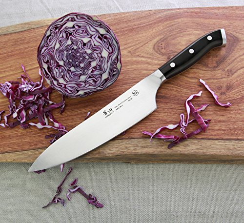 Cangshan D Series 59120 German Steel Forged Chef's Knife, 8-Inch