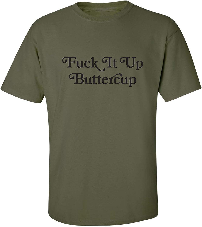 zerogravitee Fuck It Up Buttercup Adult Short Sleeve T-Shirt