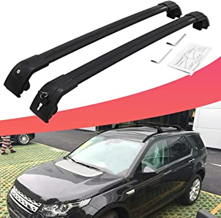 SnailAuto Locking Roof Rack Fit for 2015-2019 Land Rover Discovery Sport Cross Bars with Anti-Theft Locks Cargo Carrier