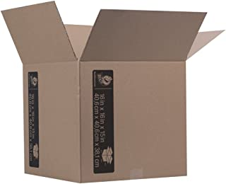 Duck Brand Kraft Corrugated Shipping Boxes, 16