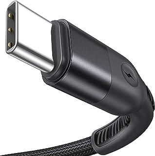 2 حزمة كابل USB C 3.1A شحن سريع 6.6FT+ 6.6FT لا تمزق سلك VEICO USB C، كابل شاحن من نوع C من النايلون مضفر متوافق مع سامسون...