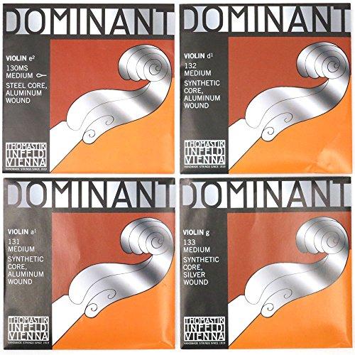 『Dominant ドミナント 4/4バイオリン弦セット(E線130MSスチール、ループエンド)』の4枚目の画像