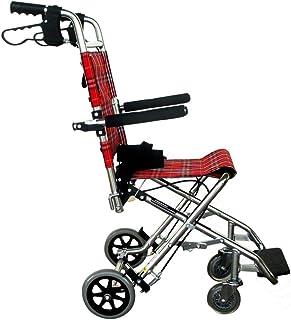 Lightweight Folding Wheelchair Driving Medical, Wheelchair Child Disabled Elderly Aluminum Wheelchair Travel Wheelchair Disabled SZWHO