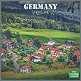 Germany Landscape Calendar 2022: Official Germany Calendar 2022, 16 Month Calendar 2022
