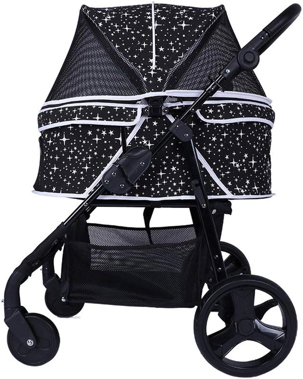 Dog Ryan Strollers, Medium BLACK) (color Carts Dogs Disabled