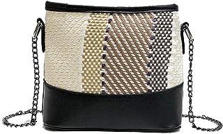 VogueZone009 Women's Zippers Pu Dacron Casual Crossbody Bags,CCABO203463