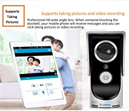 Camera Nest Doorbell Video Doorbell Doorbell Camera Nest Wireless WiFi Video Door Phone Doorbell Intercom System Home Secu...