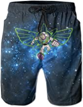 Buzz_Lightyear_Of_Star_Command Mens Running Quickly Drying Beach Bathing Suits Pants