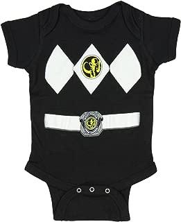 Power Rangers Infant One Piece Costume Uniform Snapsuit Romper