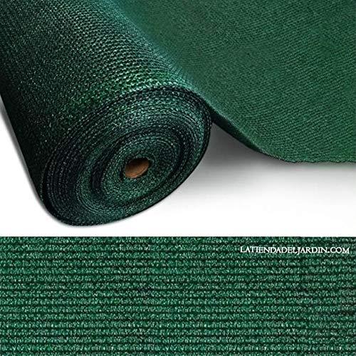MALLA de SOMBREO OCULTACION 2 x 10 metros, verde oscuro. Recomendable en...