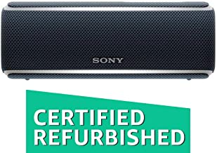 Sony SRS-XB21 Portable Wireless Bluetooth Speaker, Black (Renewed)