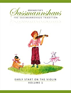 Sassmannshaus, Kurt - Early Start on the Violin Book 1 Published by Baerenreiter Verlag