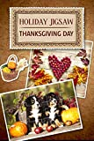 """500 beautiful Thanksgiving-themed motives Tasks and colorful trophies for those who love excitement The comfort of hearth and home in every photograph More brilliant jigsaw fun awaits you in""""Jigsaw Boom 2"""" !"""