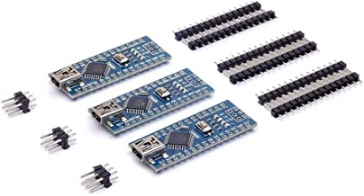 3Pcs USB CH340G 5V 19MA ATMEGA328P CH340G Module Board Micro-controller Board Arduino (Pack of 3) CLW1060 (Welded/Not welded) - Not welded / 3Pcs(without line)