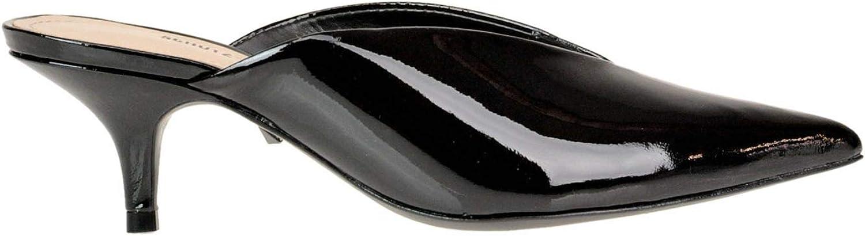 Schutz Women's MCGLCAT000005253E Black Patent Leather Sandals