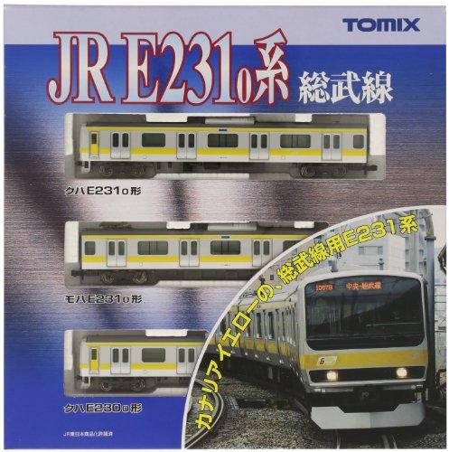 J.R. Commuter Train Series E231-0 [Sobu Line] (Basic 3-Car Set) (Model Train)