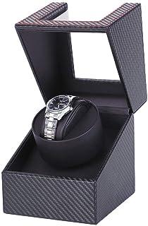 WATCH WINDER Carbon Motor Shaker Watch Winder Holder Display Automatic Mechanical Watch Winding Box Jewelry Automatic Watc...
