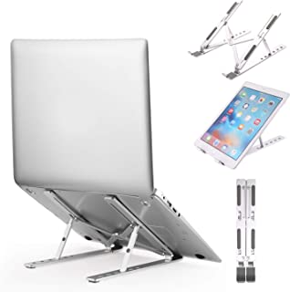 Laptop Stand, Hoiidel Adjustable Aluminum Laptop Computer Stand Tablet Stand,Ergonomic Foldable Portable Laptop Stand,Comp...