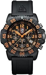 Navy SEAL Colormark Chronograph XS.3089 Reloj de Plásticolsera Cuarzo Hombre correa de Plástico Negro