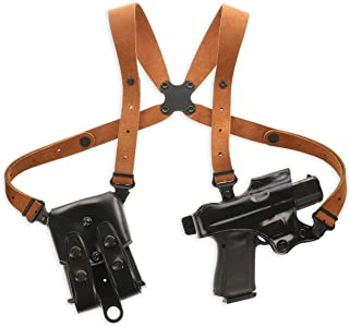 Galco JR212B Jackass Rig Shoulder System for 1911s - RH, Black